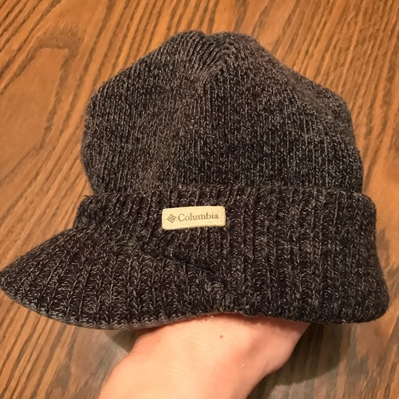 Columbia Other - Charcoal gray boys brim hat f396caefb9e